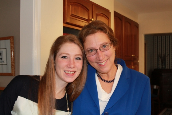 Me and my wonderful Mom :-)