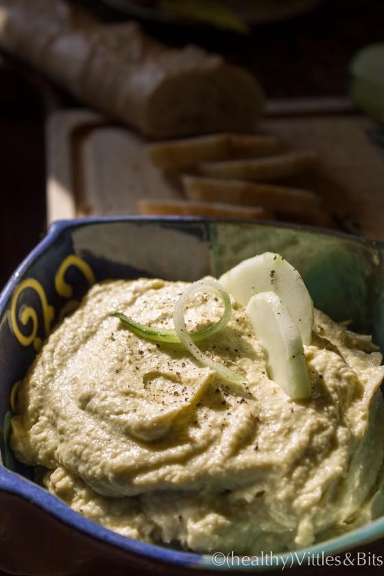 Avocado Hummus, (healthy)Vittles&Bits