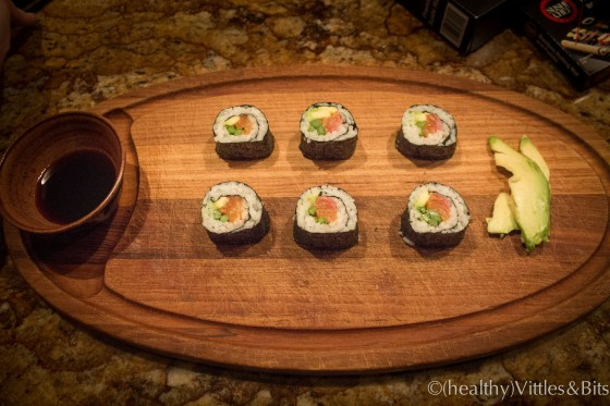 Make Your Own Sushi, (healthy)Vittles&Bits